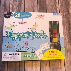 Fingerprint doodles arts and crafts kit
